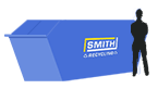 Smith Recycling 12 yard enclosed skip